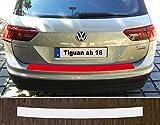 passgenau für VW Tiguan 2, ab 2016 Lackschutzfolie Ladekantenschutz transparent