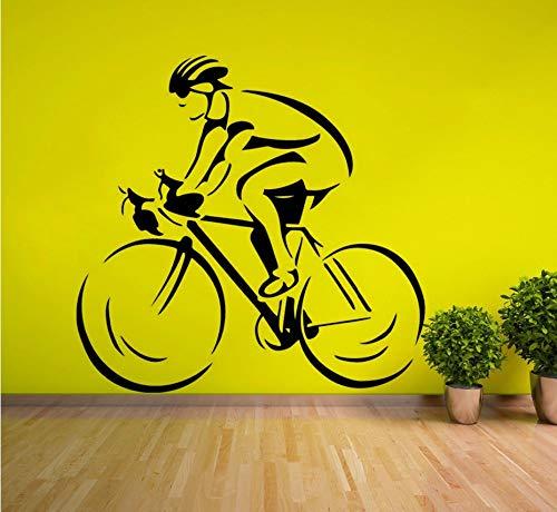 Zxfcczxf Ciclista Moderno Ist Eines Der Besten Rennfahrer In Der Nähe Von Sportarten, Die In Der Nähe Des Marktes Stehen, Und Zwar In Der Art Von Kartell 57 * 55Cm (Die Besten Rennfahrer)