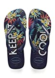 Havaianas Top Tropical, Tongs Mixte Adulte, Bleu (Navy Blue), 39/40 EU (37/38 BR)