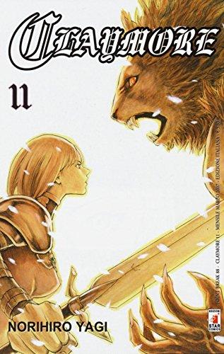 Claymore: 11 di Norihiro Yagi