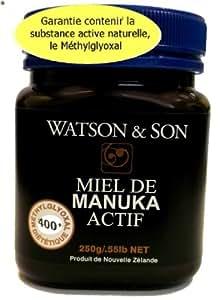 Miel Manuka MGO 400 (Méthylglyoxal) 250gr