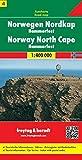 Norwegen Nordkap - Hammerfest, Autokarte 1:400.000, Blatt 4, freytag & berndt Auto + Freizeitkarten