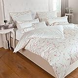 Janine Design Mako-Satin Bettwäsche Romantico 46009-01 Nackenrollenbezug einzeln 15x40 cm Blüten