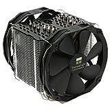 Thermalright 100700729 Macho X2, Low Noise CPU-Kühler Für Intel Und AMD CPUs, 6x 6mm Heatpipes, 2x TY 142 PWM-Lüfter (800 U/min, 15 dBa, 77 m³/h)