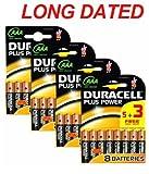 Duracell MN2400 Plus Power AAA-Batterie (langanhaltend), 32 Stück Kupfer/schwarz