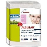 ALCLEAR 200803 Beauty-Set 4 lingettes démaquillantes Blanc Dimensions : 18 x 14 cm