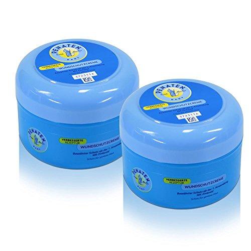 2x Penaten Baby Wundschutz Creme mit Zinkoxid 200 ml