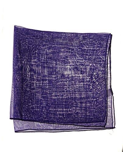 Foulard versatile pour femme en mousseline. Produit offert par NYFASHION101. Mauve