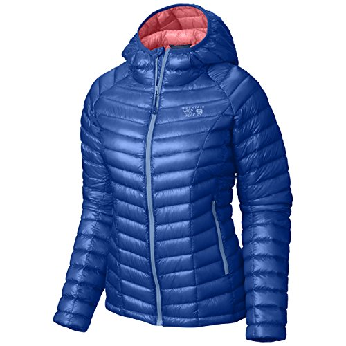 Mountain Hardwear - Ghost Whisperer Daunenjacke Damen Kapuzenjacke Small Bleu (Bright Island Blue)