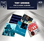 (4CD) 5 original albums from the great jazz guitarist; Callin' The Blues, Blues Groove, Tiny in Swingsville, Big Time Guitar & Hawk Eyes (with Coleman Hawkins)