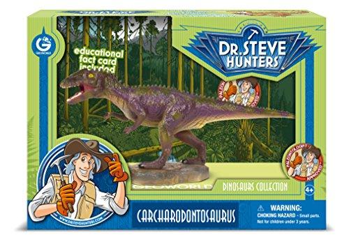 Cazadores Dr. Steve CL1564K - Colección de Dinosaurios: Modelo Carcharodontosaurus