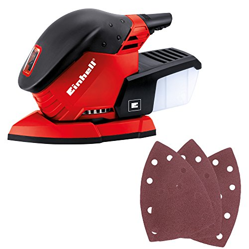 Einhell 4460560 TE-OS 1320 Levigatrice Multifunzione, 130 W, Rosso