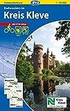 Radwanderkarte BVA Radwandern im Kreis Kleve 1:50.000, reiß- und wetterfest, GPS-Tracks Download (Radwanderkarte 1:50.0