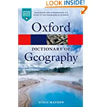 A Dictionary of Geography (Oxford Quick Reference)