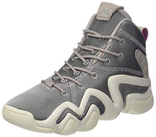 separation shoes 3e6cd 87006 adidas Crazy 8 ADV W, Zapatillas Altas para Mujer, Gris (Platin S16