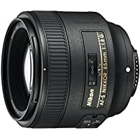 Nikon AF-S Nikkor 85mm f/1.8G Objektiv, Schwarz [Nital Card: 4Jahre Garantie]