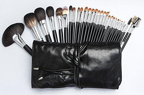 MLMH Stilvolle Tragbare 30 Make-up Pinsel-Set Make-up Pinsel