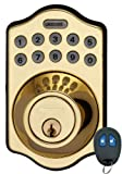 LockState LS-DB500R-PB Electronic Deadbolt with Remote - Best Reviews Guide