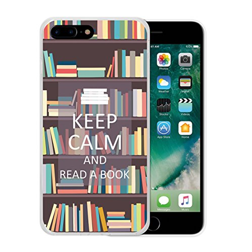 iPhone 7 Plus Hülle, WoowCase Handyhülle Silikon für [ iPhone 7 Plus ] Roma Itallien Symbole Handytasche Handy Cover Case Schutzhülle Flexible TPU - Schwarz Housse Gel iPhone 7 Plus Transparent D0292