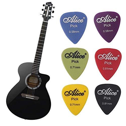 Plektren 0,71 mm Coole Custom Plektren für Gitarrenbässe in verschiedenen Farben (Coole Plektren Plektren)