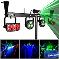 Chauvet Gig Bar DMX Effects Light Mobile Disco DJ Effects Portable Lighting Rig
