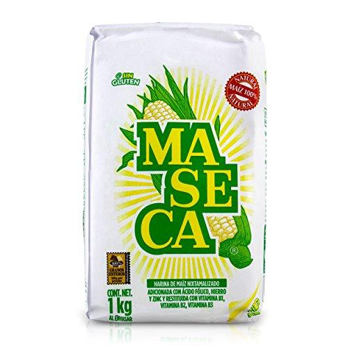 Maseca Masa Harina Corn Tortilla Flour - 1kg Test