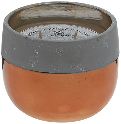 Deco Flair Bronze Urban Beton Topf Kerze -
