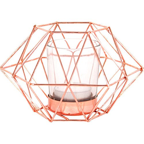 lovely-copper-metal-geometric-octagonal-tea-light-tealight-candle-holder-by-wa