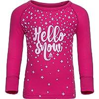 Odlo Warm Trend Crew Neck Camiseta Junior–Beetroot Purple, 92