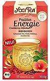 Yogi Tee Positive Energie Cranberry Hibiskus, 17 Teebeutel, 30,6 g