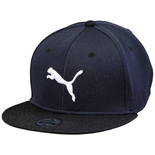 PUMA cappellino con visiera, New Navy-nero-bianco, OSFA, 828267 33