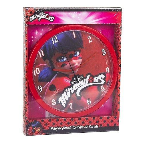 515wdbf%2BrNL - Disney-Ladybug Reloj de Pared, lb17054