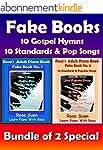 Piano Song Books - Fake Book 1 & 2 -...