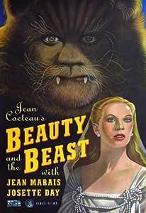 Beauty and the Beast Affiche du film Poster Movie Beauté et le bête f (11 x 17 In - 28cm x 44cm) Style C