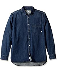 Quiksilver Men's Denim Jean Sula Shirt