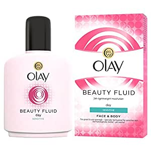 Olay Beauty Fluid Sensitive Moisturiser, 100ml