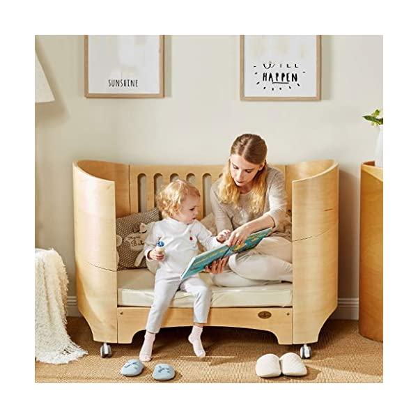 DUWEN-Cot bed Solid Wood Multifunction European Baby Cot Toddler Bed Game Bed Sofa Bed DUWEN-Cot bed 1. Simple and exquisite crib not only allows the baby to have a better sleep experience, but also cultivates the baby's independent consciousness and exercises the baby's hand and foot coordination ability, which is the best gift for the baby. 2. The crib is made of environmentally friendly pine wood, which is sturdy and durable, not easy to crack and deform, and has a carrying capacity of more than 80KG, so that the baby has a healthy sleep. 3. The crib is safe, environmentally friendly, non-irritating and harmless to the baby. It is the best choice for the mother. 2