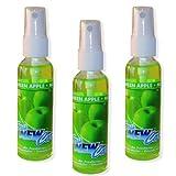 3 Stück Fresh New Car Spray Raumspray - grüner Apfel (180ml - 33,28EUR/1l)