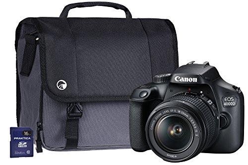 Canon EOS 4000D SLR Camera Kit w...