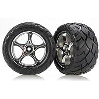 Traxxas 2478R - Piezas de Repuesto para neumáticos y Ruedas de Coche, Cromo, 5