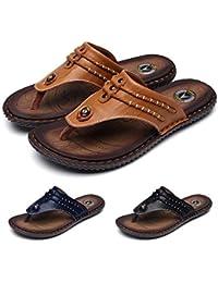 34a136287361a7 gracosy Flip Flops Unisex Sandalen Flache Hausschuhe Pantoletten Sommer  Schuhe Slippers Weich Anti-Rutsch T-Strap Sandalen für Herren…