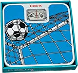 #10: Belita BPS-M-1101 Square Display - Large Surface Personal Analog Weighing Scale upto 120 KG by EzLife - Football