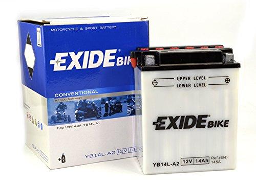 Exide Motorrad Batterie 12V 14Ah 140A YB14L-A2