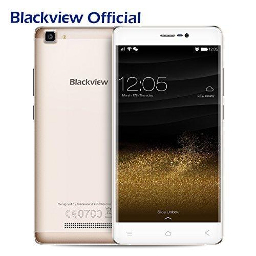 Preisvergleich Produktbild Blackview A8 MAX Smartphone Ohne Vertrag 4G(5.5 Zoll-2Gb RAM&16Gb ROM -Android 6.0), MT6737 1.3GHz Quad-Core Dual SIM Mobiltelefon mit GPS, Bluetooth 4.1,WIFI