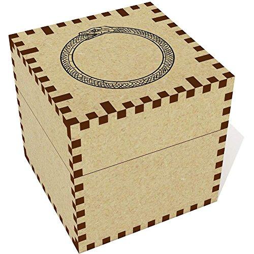 Medium (57mm) 'Schlange Essen Schwanz (Ouroboros)' Schmuckkästchen (JB00001352) Schlange Essen Schwanz