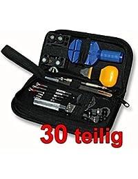 dde62a668b9454 Ensemble Professionnel 30pc D outils De Réparation De Montre Dans Un Sac En  Nylon by