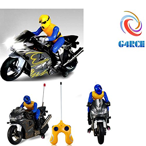G4RCE RC Kids Children Battery Operated Radio Remote Control Racing Motorcycle Bike Toy Price