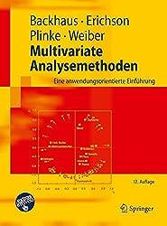Multivariate Analysemethoden: Eine anwendungsorientierte Einführung (Springer-Lehrbuch)