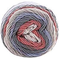 Mengonee 100 g/Bolas de Colores del Arco Iris de 5 Capas de Hilados de