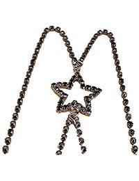Correas de sujetador de diamantes de imitación, Tukistore Mujeres de la estrella de diamantes de